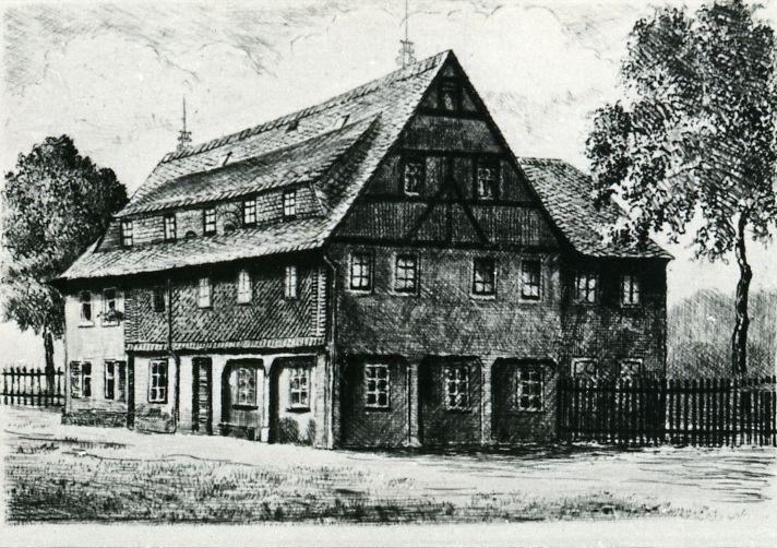 Bahner Stammhaus: erbaut 1716 durch August Bahner, erweitert 1867 durch Wilhelm Friedrich Bahner